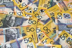 dinheiro australiano foto