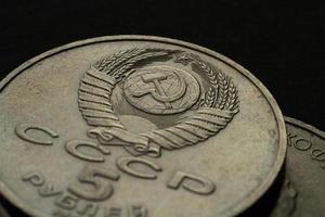 dinheiro rublo URSS foto