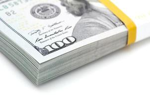 maço de dinheiro foto