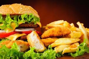 comida rápida foto