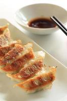 comida chinesa, dim sum jiaozi foto