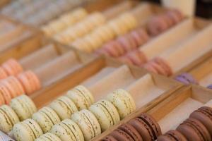 macarons saborosos foto