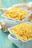 delicioso macarrão com queijo foto