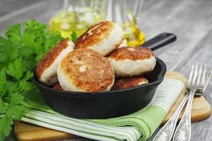 hambúrgueres de frango foto