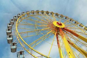 roda gigante - riesenrad - hamburgo, alemanha foto