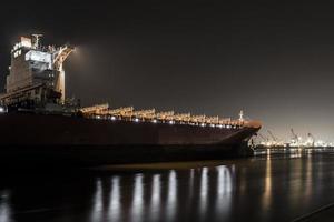 navio vazio foto