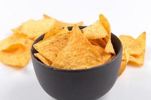 chips de nachos de milho