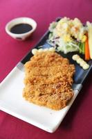 tonkatsu, costeleta de porco