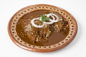 enchiladas mexicanas reais foto