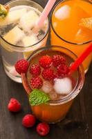 coquetel de frutas foto