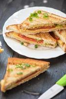 sanduiche de queijo foto