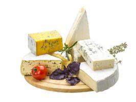 variedade de queijos foto