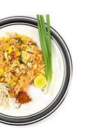 almofada de macarrão tailandês foto