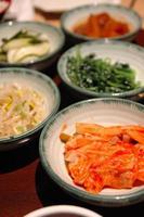 acompanhamentos coreanos foto
