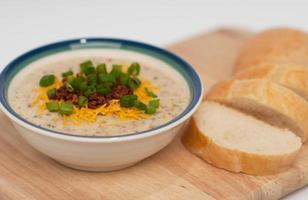 sopa de batata foto