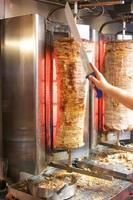 giroscópios de kebab. foto