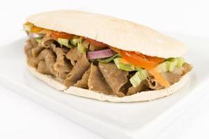 envoltório de kebab de donner / giroscópio foto