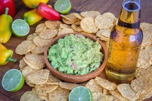 comida de festa mexicana foto
