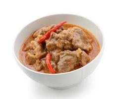 curry panaeng é um tipo de curry tailandês foto
