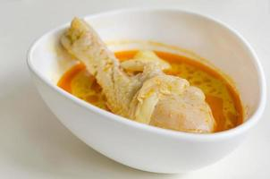 massaman curry chicken foto