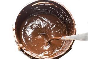 balde de chocolate foto