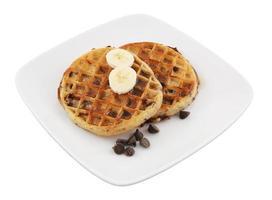 waffles para crianças pequeno-almoço foto