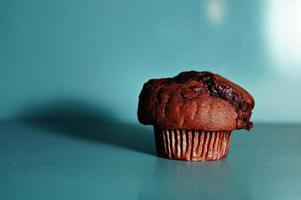 muffin de chocolate foto