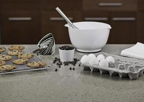 cozinhando biscoitos foto