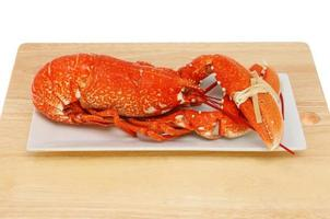 lagosta cozida