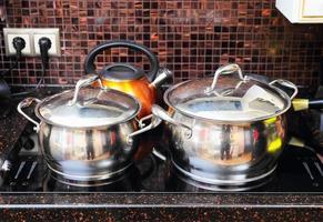 fogão de cozinha foto