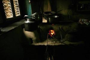 cozinha nepalesa foto