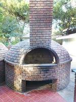 foto antigo forno de pedra