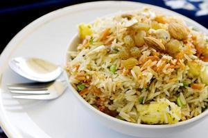arroz indiano foto
