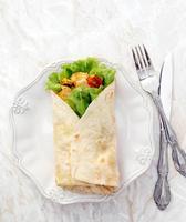 tortilla deliciosa foto