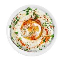 salada de hummus foto