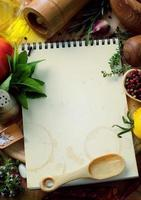 receitas de comida de arte foto