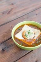 sopa de goulash foto
