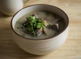 sopa de taro foto