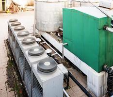 tanque de água foto