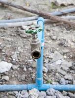 válvula de água. foto