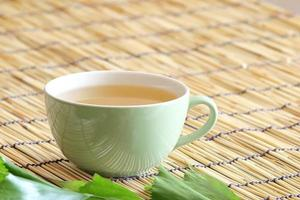 mistura de chá branco foto