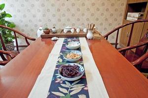 a cerimônia do chá chinês foto