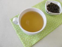 xícara de chá branco de prata real do ceilão