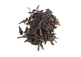 folhas de chá foto