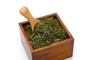 chá japonês foto
