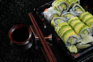 restaurante de sushi foto