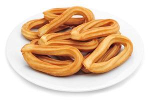 churros típicos da espanha foto
