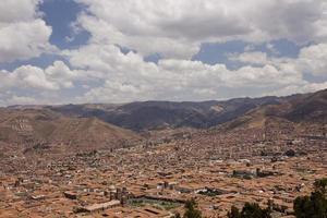 cuzco e os andes