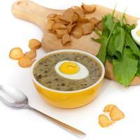 sopa verde foto