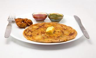 café da manhã indiano foto